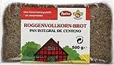 Germania- Pan Integral de Centeno sin conservantes (5 unidades de 500 gramos)