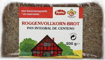 Germania - Whole Rye Bread Preservative Free (5 x 500 g)