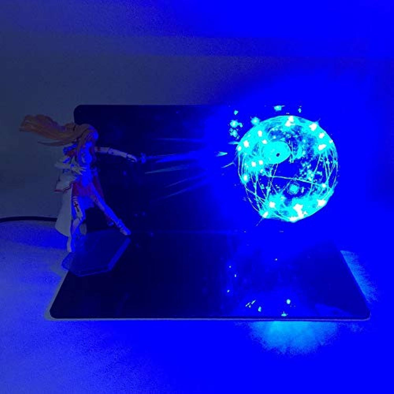 Dragon Ball LightHandgefertigte kreative Tischlampe führte leuchtendes Spielzeug, blau