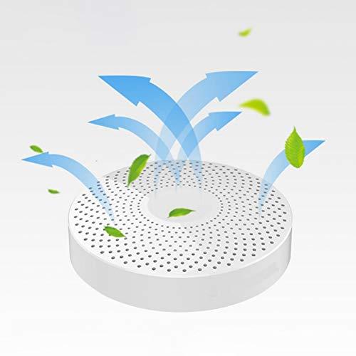 frenma Esterilizador de desodorización, Mini purificador de Aire, removedor de olores para gabinetes de Cocina CW001 Sitio de construcción al Aire Libre