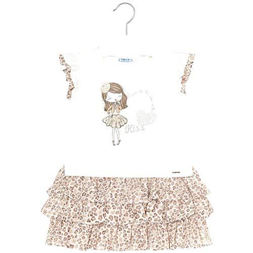 Mayoral Vestido Combinado Gasa niña Modelo 3945