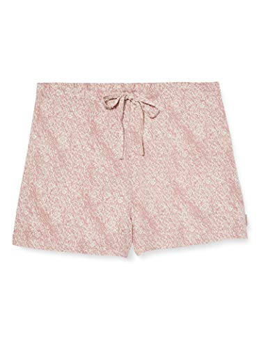 Calvin Klein Sleep Short Pantalones de Pijama, Rosa (STIPPLED Texture SYU), XS para Mujer
