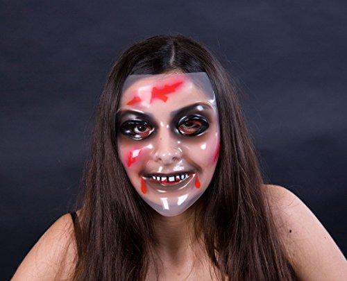 Transparente», «zombie frauengesicht masque