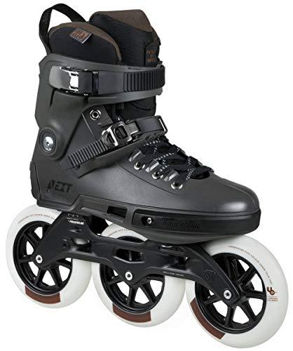 Powerslide Next Megacruiser Pro 125 Triskates Inline-Skates schwarz schwarz, 40-41