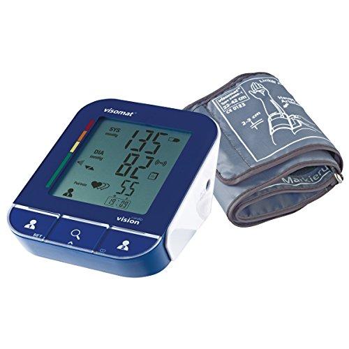 visomat vision cardio - Blutdruckmessgerät digital zur Messung des Blutdruck am Oberarm mit Bluetooth-Funktion