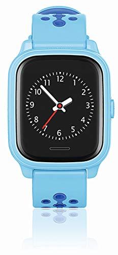 ANIO Touch GPS Kinder Smartwatch Smartphone Watch - Schutz für Ihr Kind - SOS Notruf - Telefonfunktion - Keine MONITORFUNKTION - GPS Kinder Uhr, Hellblau