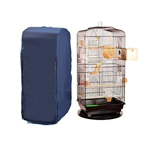 Chengsan - Cubiertas para jaula de pájaros de gran tamaño para reptiles, 100% algodón, para jaula cuadrada