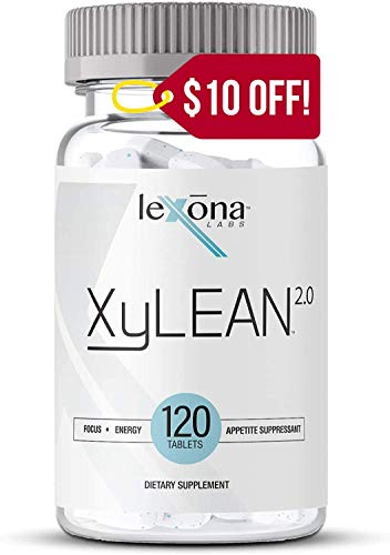 XyLEAN 2.0 Diet Pills for Men & Women | w/Clinically Proven Phase 2 Carb Controller | Carb Blocker, Helps Manage Hunger, Reduces Water Retention, Increase Energy & Focus | 120 Ct