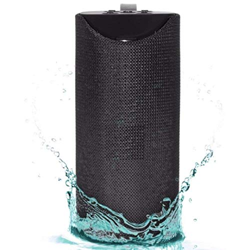 Wireless Bluetooth Speaker for iPhone 5s Ultra Boost Bass with DJ Sound Portable Home Speaker with Audio Line in TV Supported,USB,FM,TF Card and AUX Cable Supported Waterproof TG113 Speaker - Mix