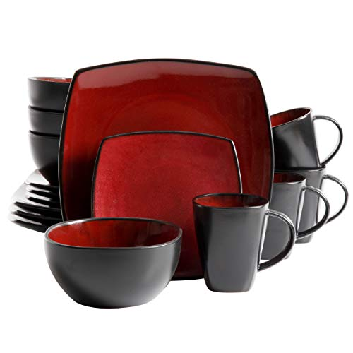 Gibson Dinnerware set, Bella Soho, Red