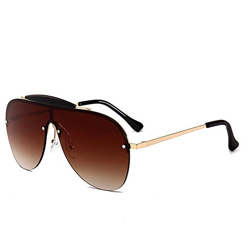 Belleashy Gafas de sol para mujer vintage de gran tamaño, polarizadas 100% protección UV, para conducir, ciclismo, correr, pesca, golf, uso diario (color: C3)