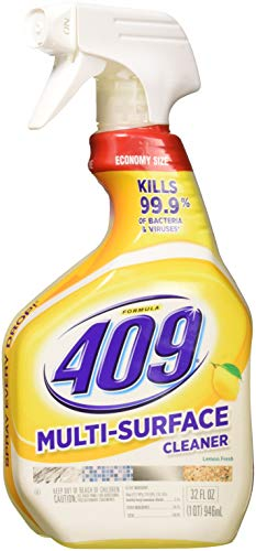 Formula 409 All Purpose Cleaner Spray, Lemon 32 oz (1 Pack of 2...