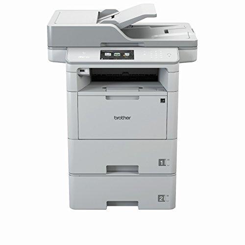Brother MFC-L6800DWT - Impresora multifunciónal, Laser, WiFi, 1200 x 600 / 1200 DPI, A4, blanco