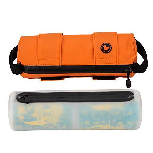 STASHERS 3.0 Modular Insulated Adventure Bag Bike Bag Frame Bag Handlebar Bag Day Pack Hiking Bag Can Sling Beer Sling- Waterproof- Food, Drink & Gear Storage