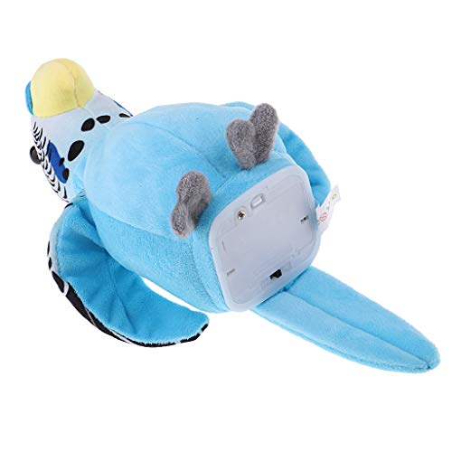F Fityle Talking - Blue Parrot Voice Repeats Toy Gift