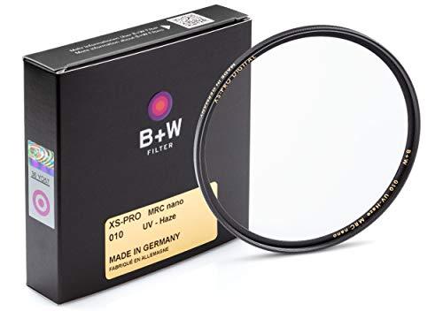 B+W UV-Haze- und Schutz-Filter (55mm, MRC Nano, XS-Pro, 16x vergütet, slim, Premium)
