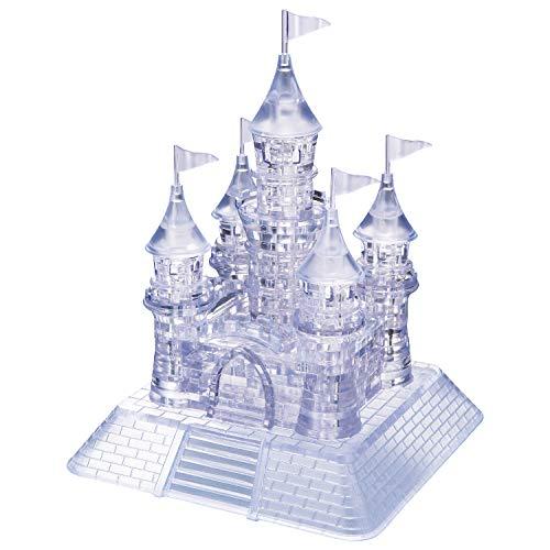 HCM Kinzel GmbH 109002 HCM 109002-Crystal Puzzle Schloss 105 teilig, transparent
