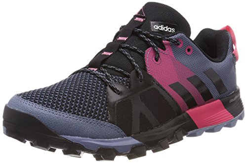 adidas Kanadia 8.1 TR W, Zapatillas de Trail Running para Mujer, (Raw Steel/Off White/Real Pink 0), 36 2/3 EU