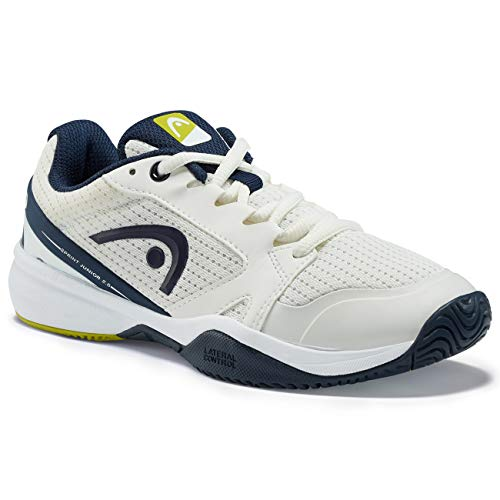 Head Sprint 2.5 Junior, Unisex-Kinder Tennisschuhe, Weiß (White/Dark Blue Whdb), 33 EU (1 UK)