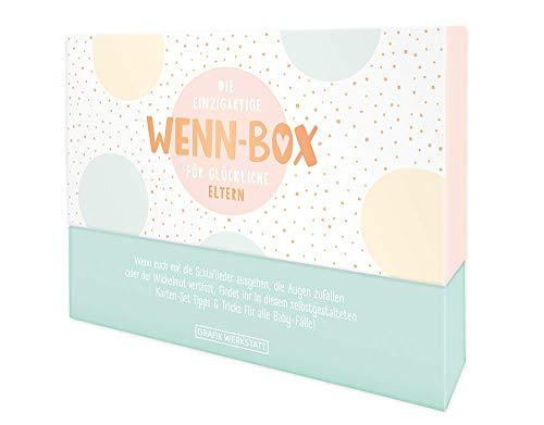 Grafik Werkstatt Geschenk-Box zur Geburt| Karten-Set zum ausfüllen | 20 Karten in hochwertiger Box