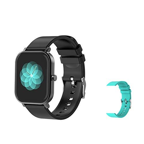 S10 Smart Watch Muñequera De Los Hombres Reloj Deportivo Ritmo Cardíaco Sphygmomanometer IP67 IP67 A Prueba De Agua Smartwatch para Android iOS Teléfono,E