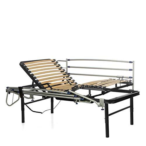 💊 Comprar cama articulada geriátrica de 105 x 200 con patas regulables de forma manual