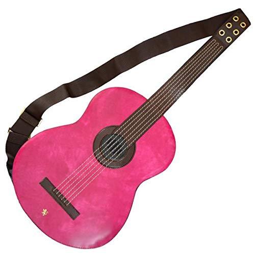 Pratesi Da Filicaja Gitarre Rucksack - R434 Radica (Fuchsie)