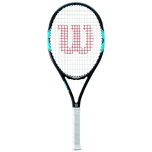 Wilson Monfils Pro 100 Racchetta da Tennis per Giocatori Ambiziosi, Unisex Adulto, Blu/Navy, L2