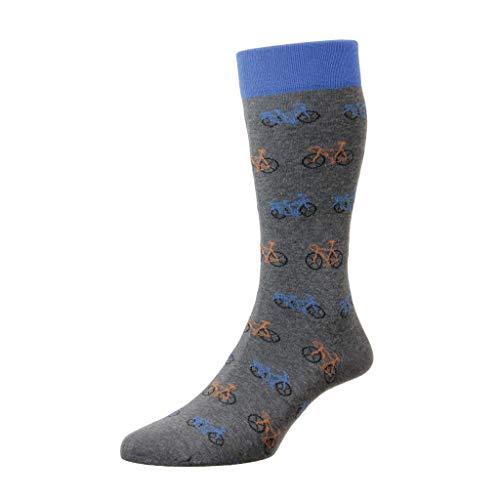 Scott Nichol Damen Socken Gr. 43.5/46 DE, grau-mix