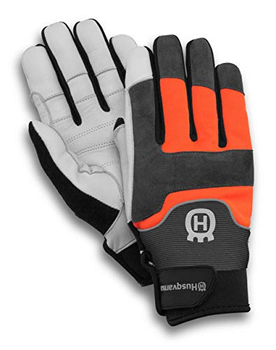 Husqvarna Technical 20 Chainsaw Protection Gloves, Orange. Buy it now for 34.99