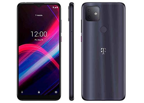 TCL T-Mobile REVVL 4+ (2020) 64GB 5062W (GSM Unlocked) 6.52' Display | Long Lasting Battery Smartphone - Steel Gray (Renewed)