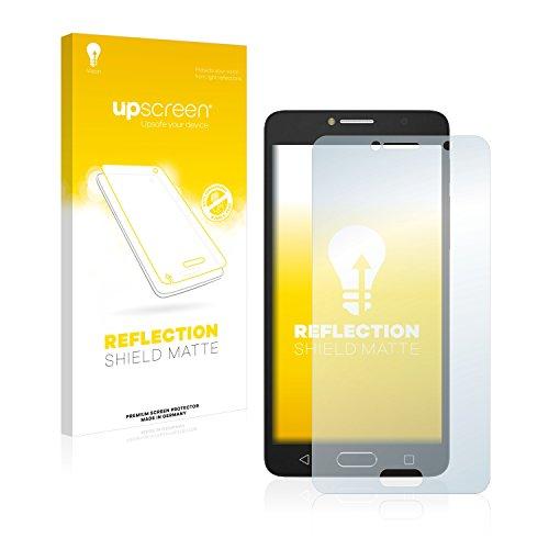 upscreen Entspiegelungs-Schutzfolie kompatibel mit Alcatel One Touch Pop 4S – Anti-Reflex Bildschirmschutz-Folie Matt