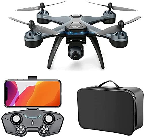 BD.Y Drone, GPS Drone con cámara 4K para Adultos GPS portátil FPV...
