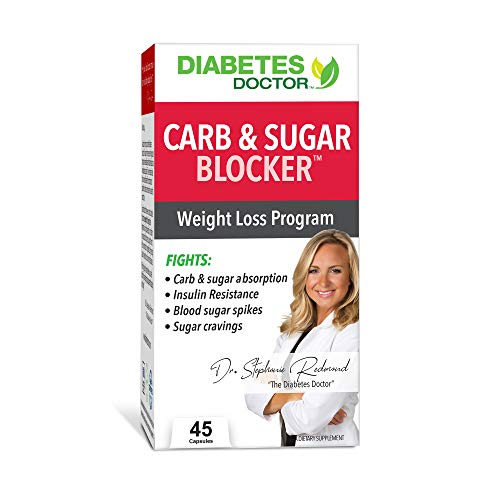Diabetes Doctor Mealtime Carb & Sugar-Blocker - Reduce Blood Sugar Spikes and Carbohydrate Absorption -Stable Blood Glucose Levels for Type 2 Diabetes Support and Weight Loss Support