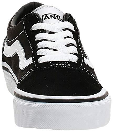 Vans Ward, Sneaker, Suede/Canvas Black/White Iju, 34 EU