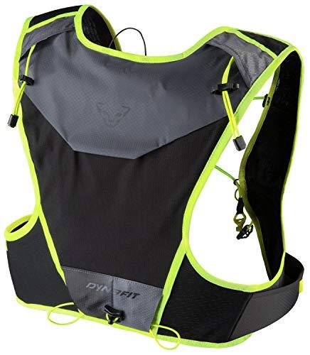 DYNAFIT Vertical 4 Backpack Blau-Gelb-Schwarz, Alpin- und Trekkingrucksack, Größe 4l - Farbe Fluo Yellow - Blue
