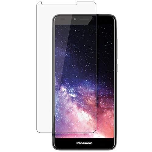 disGuard Protecteur d'écran [Crystal-Clear] Compatible avec Panasonic Eluga I7 [2 Pièces] Limpide, Transparent, Invisible, Extrêmement résistant, Anti-Empreinte Digitale - Film Protecteur