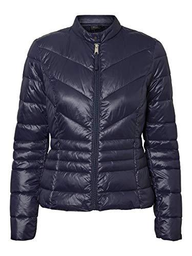 Vero Moda Vmsorayasiv Short Jacket Boos Giacca, Blu (Night Sky Night Sky), Small Donna