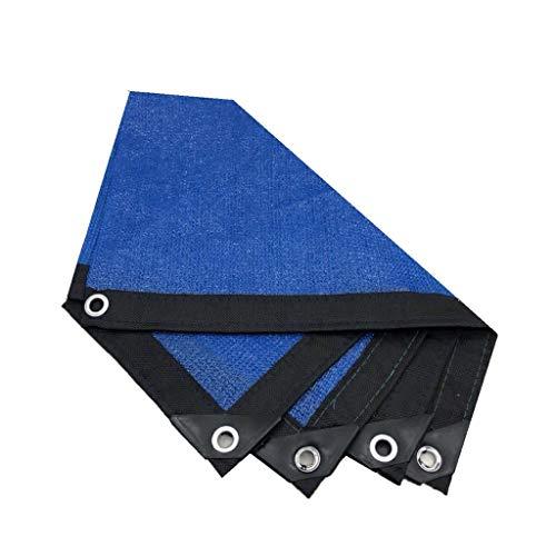 ZZHF Paño Protector Solar Shade Red de Sombreado, Protección Solar Espesamiento Cifrado Polietileno Aislamiento Térmico Malla para Balcón, Patio, Cochera, Piscina Malla Parasol (Size : 3m x 3m)