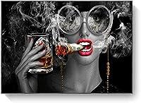 BOIPEEI 喫煙と飲酒グリル1000個大人のパズルキッズジグソーパズル子供のための教育玩具Ationペアリングパズルギフトパズル1000ピース