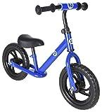 Vilano Rally Bike Balance Training Sin Pedal Presione Bicicleta, Azul