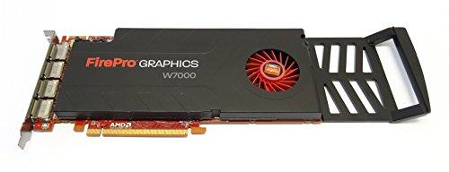 ATI FirePro W7000 - Tarjeta gráfica minorista (4 GB, DDR5, PCI-E 3.0)