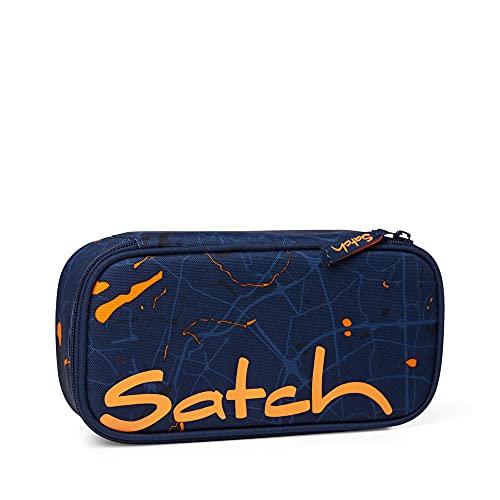 Satch Estuche para lápices, Urban Journey - Azul Oscuro, Talla única Unisex niños