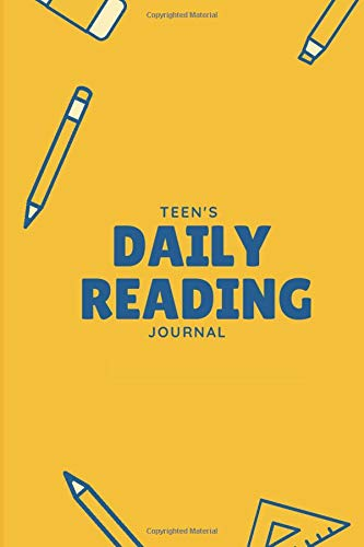 Teen's Daily Reading Journal: Kids' Reading Record Book, Track Your Child's Activities During Your Absence, Record the books you have read, Kid's Book ... Shelves, 110 (Kids' Reading Record Logbook)