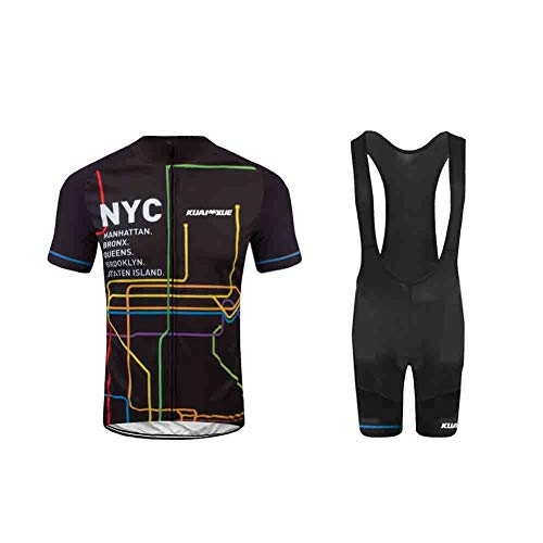 Uglyfrog 2019-2020 Neuen Männer MTB Rennrad Kurzarm Fahrrad Breathable Sommer Herren Fahrradtrikot Outdoor Sports Wear Triathon Rikots & Shirts+Bib Kurze Hosen Sets