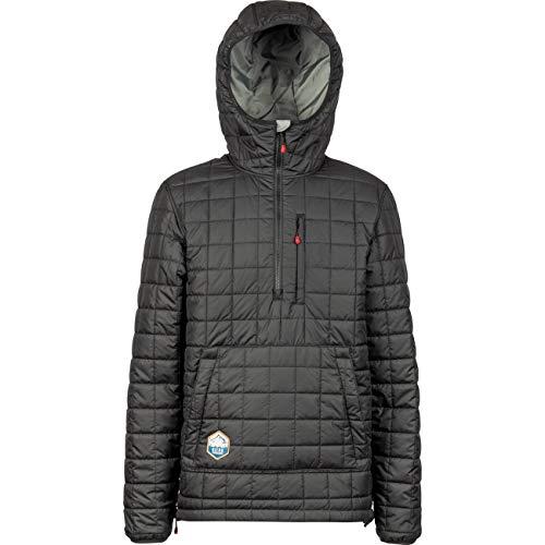 Nitro Snowboards Herren Mansiri Anorak '19 Jacke Outdoor Winter Snowboard Ski Wasserabweisend Outerwear, Black, L