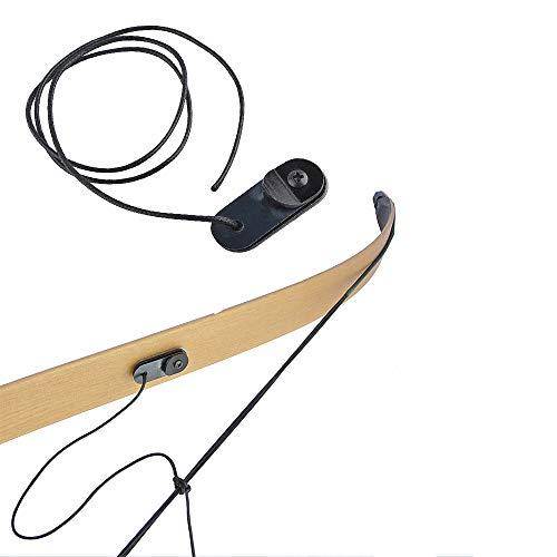 ZSHJGJR Tiro con Arco Arco Clicker Cuerda Clicker Flecha Señal de Disparo Verificación de Extracción de Arco Recurvo y Arcos Largos