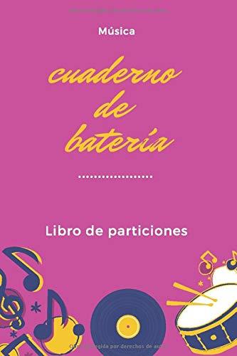 Cuaderno de batería: Libro de partituras | Papel escrito a mano | Ahorrar tiempo | 7 tablaturas y 6 diagramas de acordes por página | Para batería apasionados