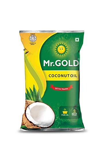 Mr. Gold Coconut Oil Pouch, 1L
