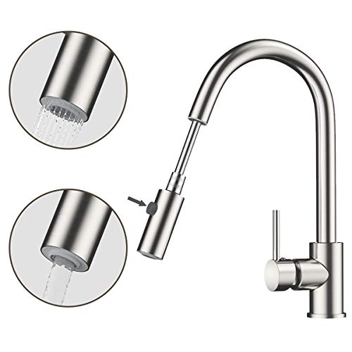 360 Degree Moveable Kitchen Tap Head Universal Rotatable Faucet Water SprayerPDH